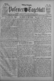 Posener Tageblatt 1911.06.26 Jg.50 Nr294