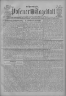 Posener Tageblatt 1907.12.11 Jg.46 Nr579