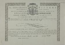 Dokument autentyczności relikwii św. Stanisława Kostki