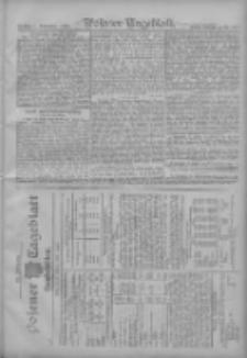Posener Tageblatt. Handelsblatt 1907.10.31 Jg.46