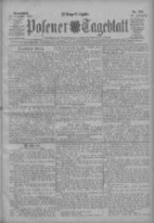 Posener Tageblatt 1907.12.21 Jg.46 Nr598