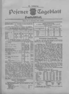 Posener Tageblatt. Handelsblatt 1907.11.01 Jg.46