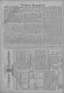 Posener Tageblatt. Handelsblatt 1907.11.02 Jg.46