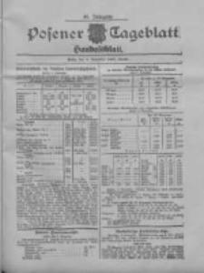 Posener Tageblatt. Handelsblatt 1907.11.06 Jg.46
