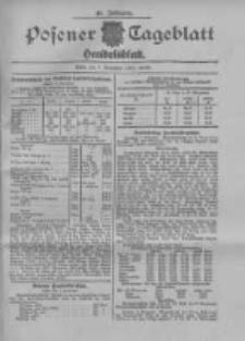 Posener Tageblatt. Handelsblatt 1907.11.07 Jg.46