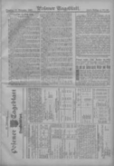 Posener Tageblatt. Handelsblatt 1907.11.11 Jg.46