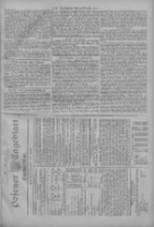 Posener Tageblatt. Handelsblatt 1907.11.16 Jg.46