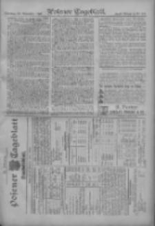 Posener Tageblatt. Handelsblatt 1907.11.18 Jg.46