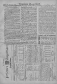 Posener Tageblatt. Handelsblatt 1907.11.21 Jg.46