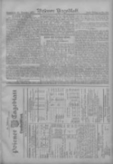 Posener Tageblatt. Handelsblatt 1907.11.22 Jg.46