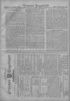 Posener Tageblatt. Handelsblatt 1907.11.23 Jg.46