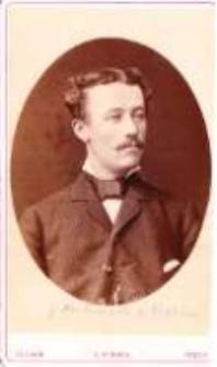 Ojciec Profesora - Teodor Stanisław Kostrzewski (1852-1907)