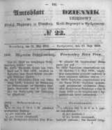 Amtsblatt der Königlichen Preussischen Regierung zu Bromberg. 1850.05.31 No.22