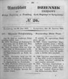 Amtsblatt der Königlichen Preussischen Regierung zu Bromberg. 1850.06.28 No.26