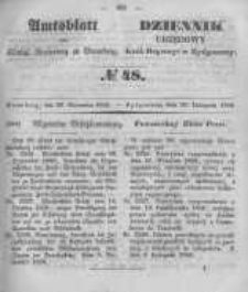 Amtsblatt der Königlichen Preussischen Regierung zu Bromberg. 1850.11.29 No.48