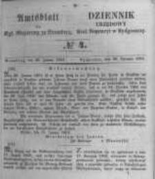 Amtsblatt der Königlichen Preussischen Regierung zu Bromberg. 1853.01.28 No.4
