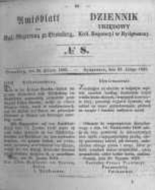 Amtsblatt der Königlichen Preussischen Regierung zu Bromberg. 1853.02.25 No.8