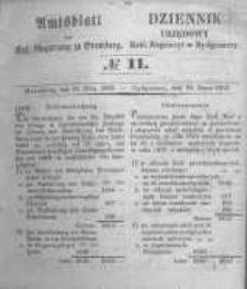 Amtsblatt der Königlichen Preussischen Regierung zu Bromberg. 1853.03.18 No.11