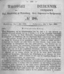 Amtsblatt der Königlichen Preussischen Regierung zu Bromberg. 1853.07.01 No.26