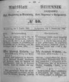 Amtsblatt der Königlichen Preussischen Regierung zu Bromberg. 1853.10.07 No.40