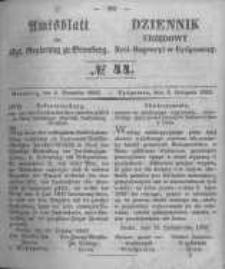 Amtsblatt der Königlichen Preussischen Regierung zu Bromberg. 1853.11.04 No.44
