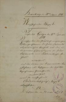 Akta spraw majątkowych z 1891 roku