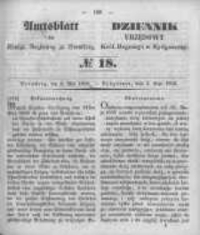 Amtsblatt der Königlichen Preussischen Regierung zu Bromberg. 1850.05.03 No.18