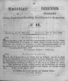 Amtsblatt der Königlichen Preussischen Regierung zu Bromberg. 1854.03.17 No.11