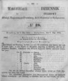Amtsblatt der Königlichen Preussischen Regierung zu Bromberg. 1854.05.05 No.18