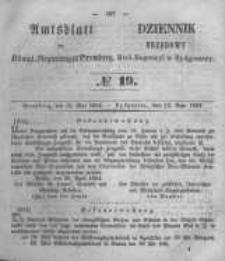 Amtsblatt der Königlichen Preussischen Regierung zu Bromberg. 1854.05.12 No.19