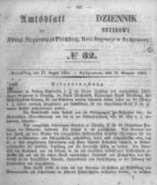 Amtsblatt der Königlichen Preussischen Regierung zu Bromberg. 1854.08.11 No.32