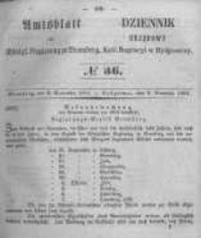 Amtsblatt der Königlichen Preussischen Regierung zu Bromberg. 1854.09.08 No.36
