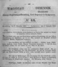 Amtsblatt der Königlichen Preussischen Regierung zu Bromberg. 1854.11.03 No.44