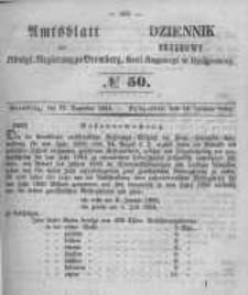 Amtsblatt der Königlichen Preussischen Regierung zu Bromberg. 1854.12.15 No.50