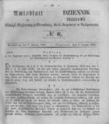 Amtsblatt der Königlichen Preussischen Regierung zu Bromberg. 1855.02.09 No.6