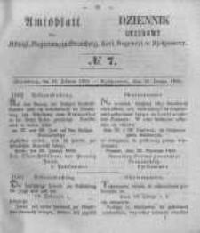 Amtsblatt der Königlichen Preussischen Regierung zu Bromberg. 1855.02.16 No.7