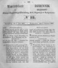 Amtsblatt der Königlichen Preussischen Regierung zu Bromberg. 1855.06.01 No.22