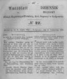 Amtsblatt der Königlichen Preussischen Regierung zu Bromberg. 1855.10.19 No.42