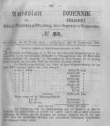 Amtsblatt der Königlichen Preussischen Regierung zu Bromberg. 1855.10.26 No.43