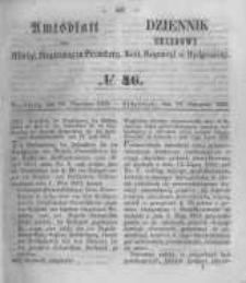 Amtsblatt der Königlichen Preussischen Regierung zu Bromberg. 1855.11.16 No.46