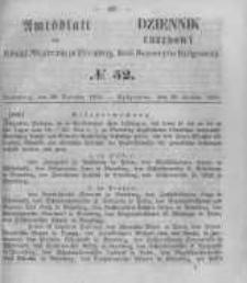 Amtsblatt der Königlichen Preussischen Regierung zu Bromberg. 1855.12.28 No.52