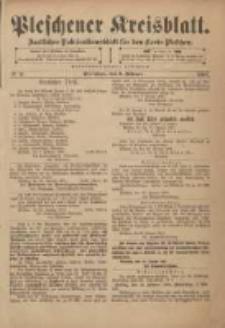 Pleschener Kreisblatt: Amtliches Publicationsblatt für den Kreis Pleschen 1901.02.06 Jg.49 Nr11