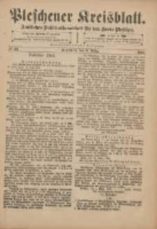 Pleschener Kreisblatt: Amtliches Publicationsblatt für den Kreis Pleschen 1901.03.09 Jg.49 Nr20