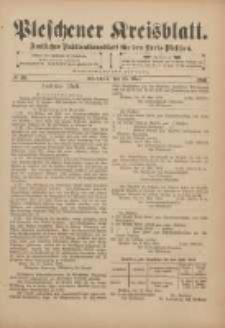 Pleschener Kreisblatt: Amtliches Publicationsblatt für den Kreis Pleschen 1901.05.15 Jg.49 Nr39