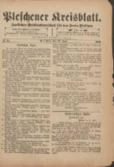 Pleschener Kreisblatt: Amtliches Publicationsblatt für den Kreis Pleschen 1901.06.22 Jg.49 Nr50