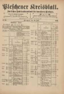 Pleschener Kreisblatt: Amtliches Publicationsblatt für den Kreis Pleschen 1901.07.10 Jg.49 Nr55
