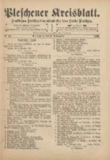 Pleschener Kreisblatt: Amtliches Publicationsblatt für den Kreis Pleschen 1901.11.06 Jg.49 Nr89