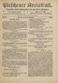 Pleschener Kreisblatt: Amtliches Publicationsblatt für den Kreis Pleschen 1901.12.07 Jg.49 Nr98