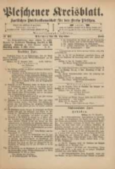 Pleschener Kreisblatt: Amtliches Publicationsblatt für den Kreis Pleschen 1901.12.21 Jg.49 Nr102