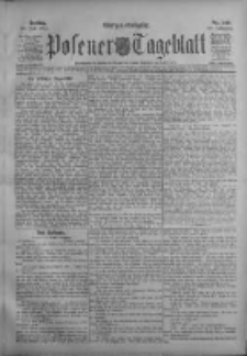 Posener Tageblatt 1911.07.28 Jg.50 Nr349